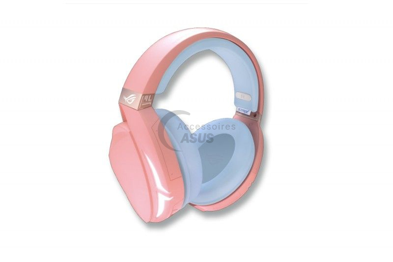 Pink ROG Strix Fusion 300 Headphones