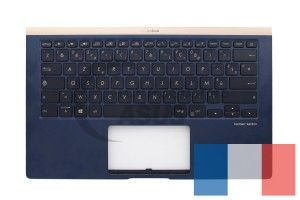 Blue Backlight AZERTY Keyboard for ZenBook