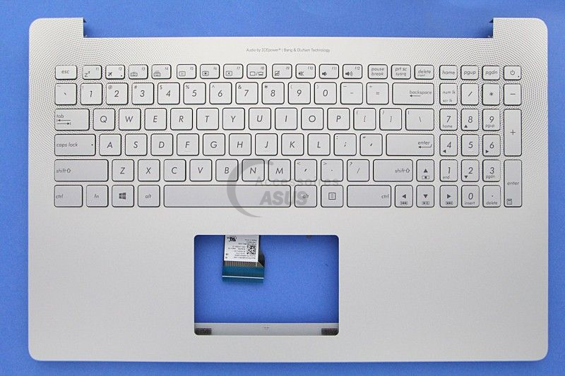 Silver QWERTY keyboard for ZenBook