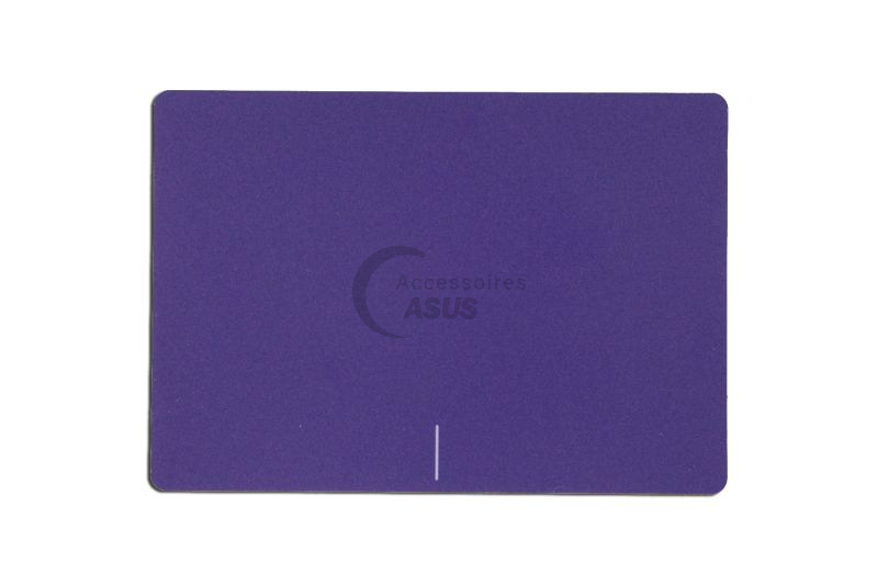 Purple touchpad plate for laptop