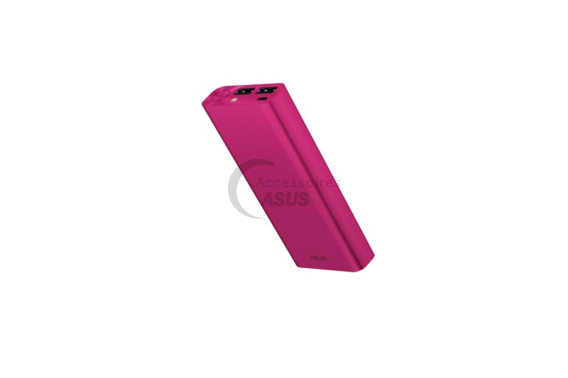 Pink Zenpower ULTRA 20100 mAh dual USB port