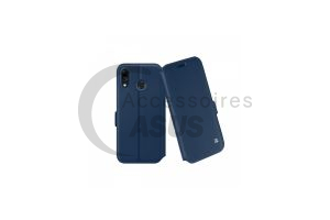 Ibroz Prestige Folio blue Leather Case for ZenFone Max M1