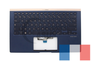 Blue backlit keyboard for ZenBook