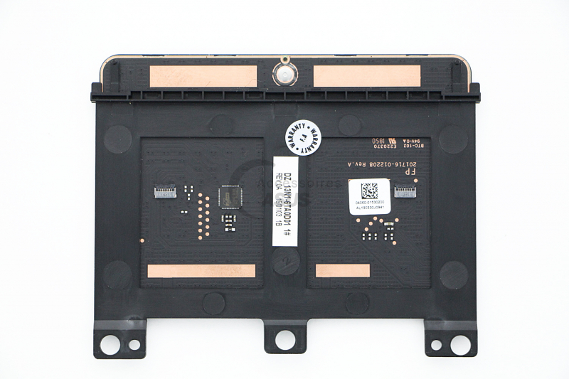 Blue module touchpad with fingerprints for VivoBook