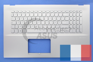 Silver Keyboard for VivoBook