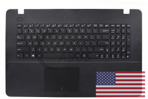 Black American QWERTY keyboard