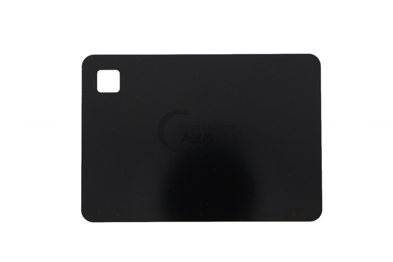 Blue touchpad plate for Zenbook