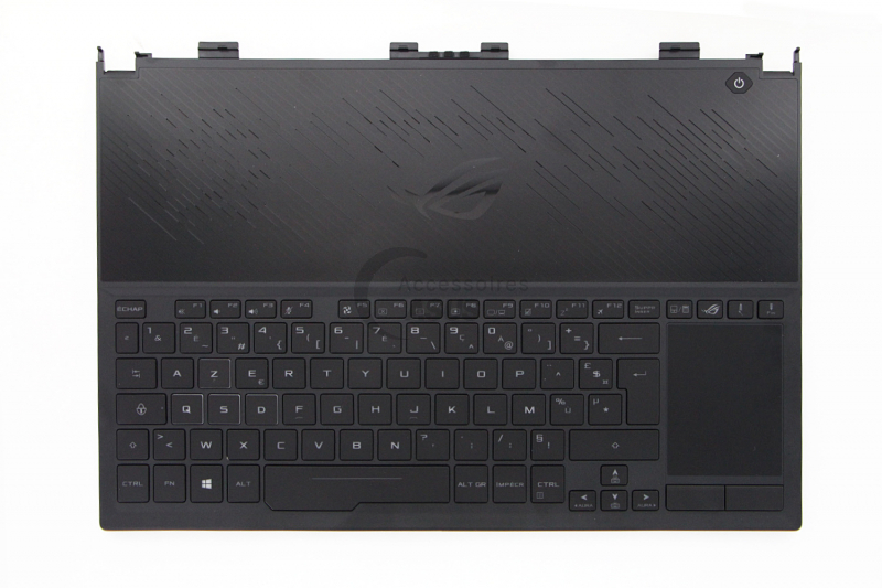 Black backlit keyboard for PC ROG Zephyrus