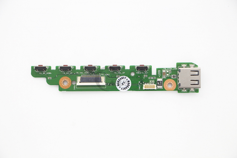 USB daughterboard and buttons for All-in-One