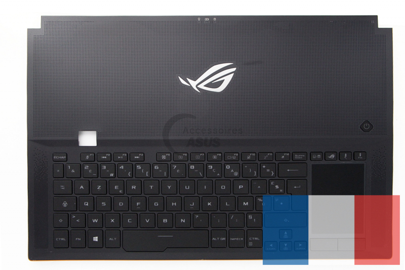 Black backlit keyboard for PC ROG Zephyrus S