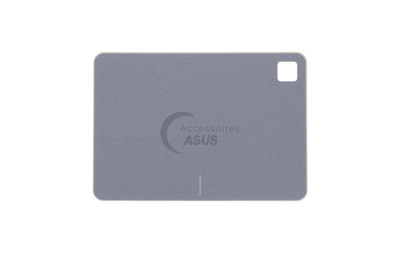 Grey touchpad module with fingerprint reader for VivoBook