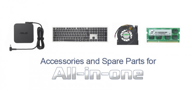 Accessoiries and Spare parts for AIO