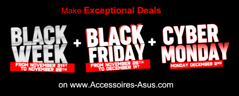 Black Friday 2019 Accessoires Asus
