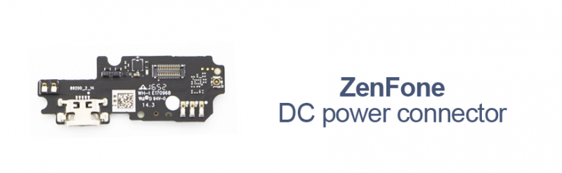 Asus ZenFone DC power connector