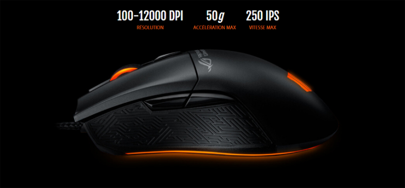 Souris ROG Gladius II Origin édition Call Of Duty
