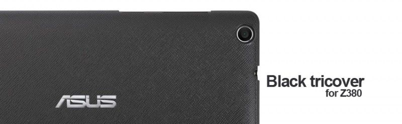Black tricover for ZenPad Z380