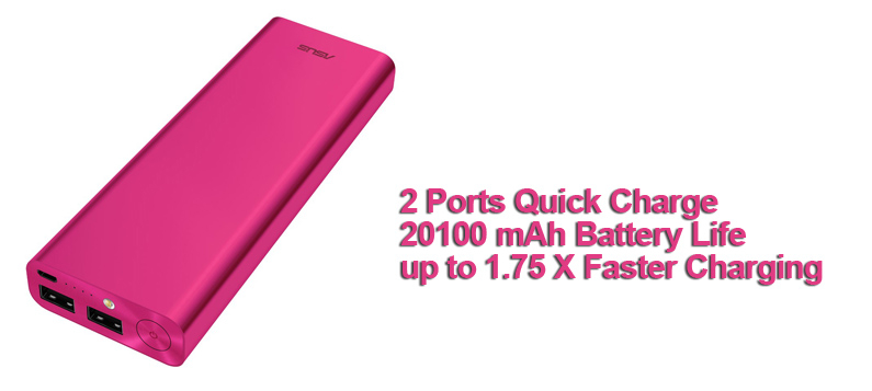 ASUS ZenPower Ultra Pink