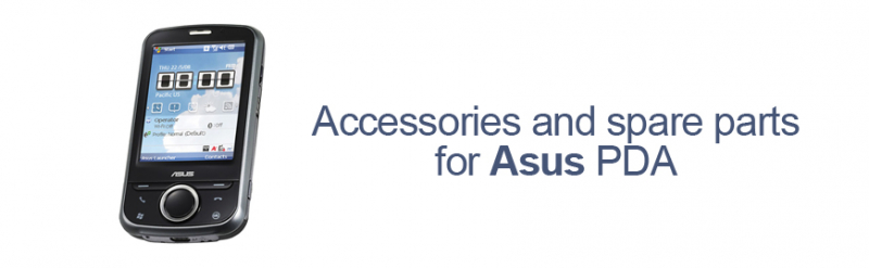 Accessories and spare parts for Asus PDA