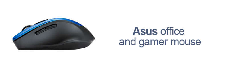Asus office and gamer mouse