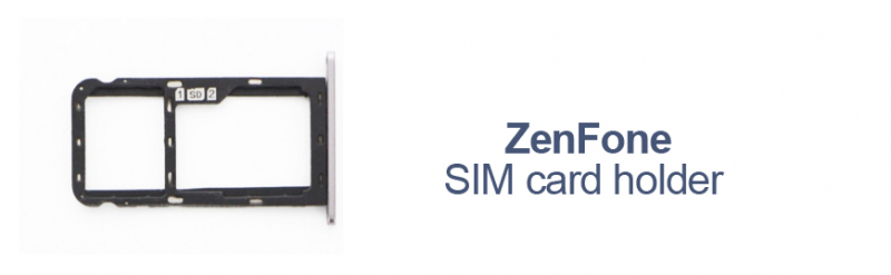 Asus ZenFone SIM card holders