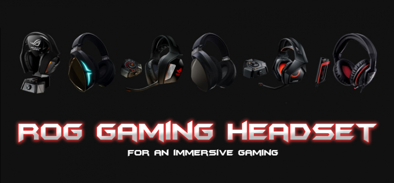 Asus ROG gaming headset