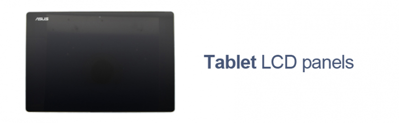 Asus tablet LCD panels