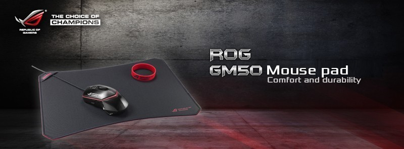 Asus ROG GM50 mousepad