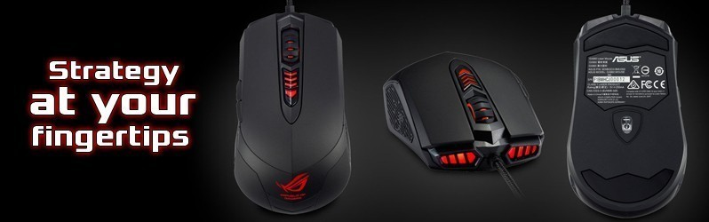 New ROG GX860 Buzzard Mouse