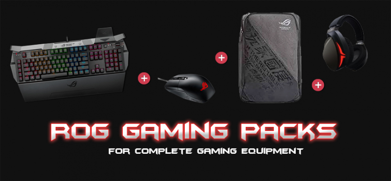 Asus ROG Gaming packs