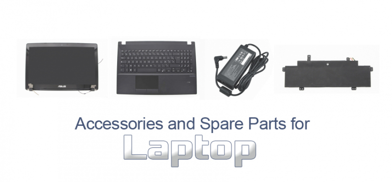 Accessories and Spare Parts for laptop