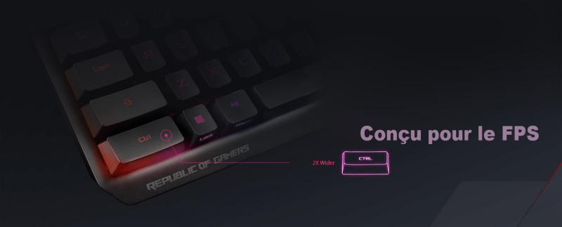 Asus Clavier ROG Strix Scope RX