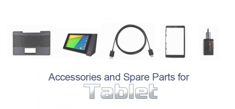 Accessories and Spare Parts for tablet