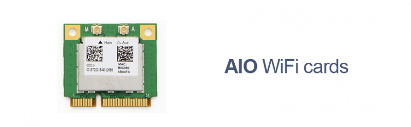 Asus AIO WiFi cards