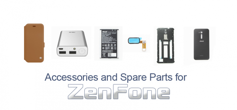 Accessories and Spare Parts for ZenFone
