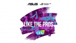 On the Asus Corner at CES 2020!