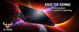 TUF gaming, the new line of entry level Asus gamer laptops