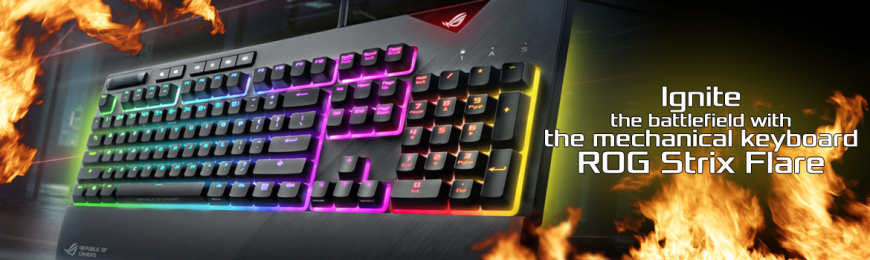 New Keyboard Asus Strix Flare - Accessoires Asus